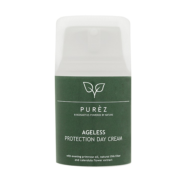 PURÈZ Ageless UVA Protection Dagcrème BIO